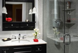 Contemporary 3/4 Bathroom