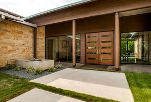 Modern Front Door with Tiama 5
