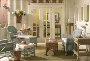 Cottage Porch with Wickerhomepatiofurniture.com: french country rattan backpack basket, Screened porch, Deck Railing, Paint