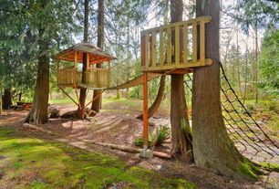 Landscape/Yard with Treehouse, Play structure