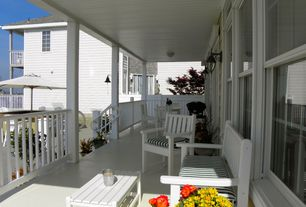 Cottage Porch with Pathway, Wrap around porch