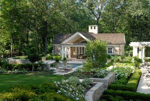 Traditional Landscape/Yard with Restoration Hardware Hampton Urn, Brighter Blooms Dwarf English Boxwood