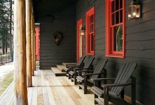 Country Porch with Screened porch, double-hung window