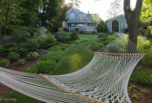 Cottage Landscape/Yard with Hammock