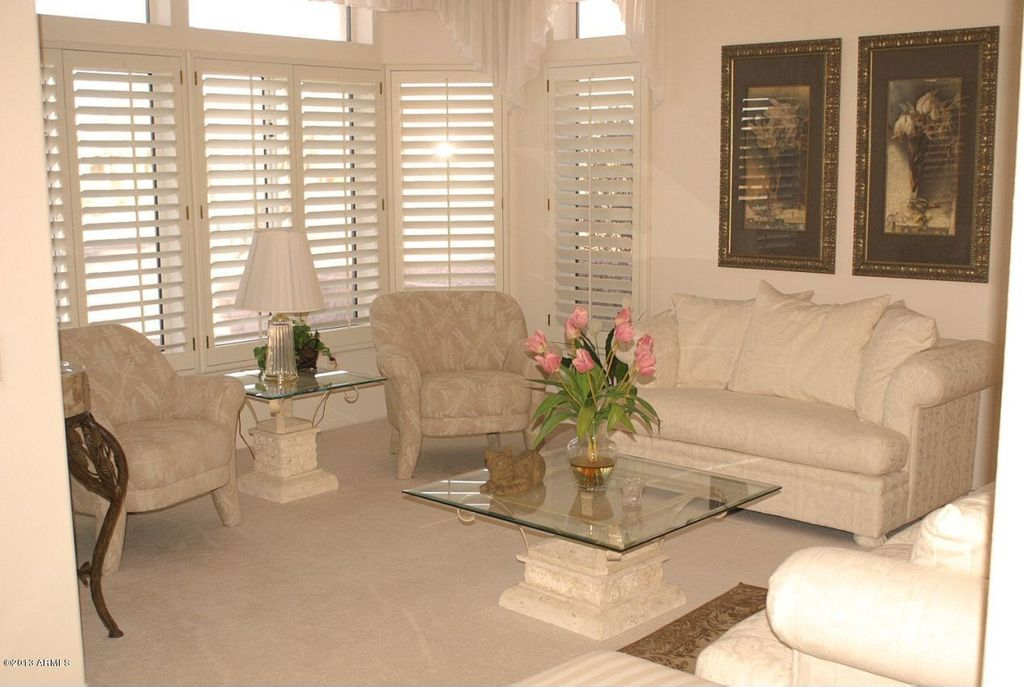 Traditional Living Room with Casement, Carpet, Standard height, picture window