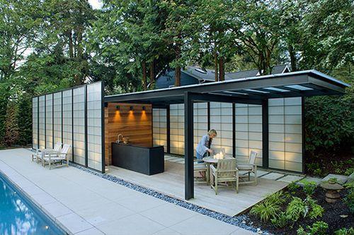 Contemporary Patio with exterior tile floors, exterior concrete tile floors, Trellis