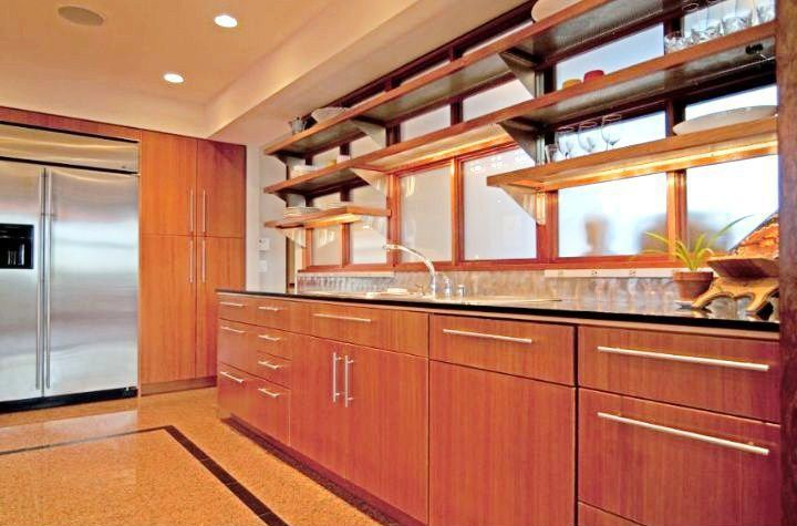 Contemporary Kitchen with Quartz counters, European Cabinets, Standard height, full backsplash, Quartz, L-shaped, Casement