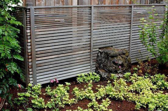 Fence, Modern