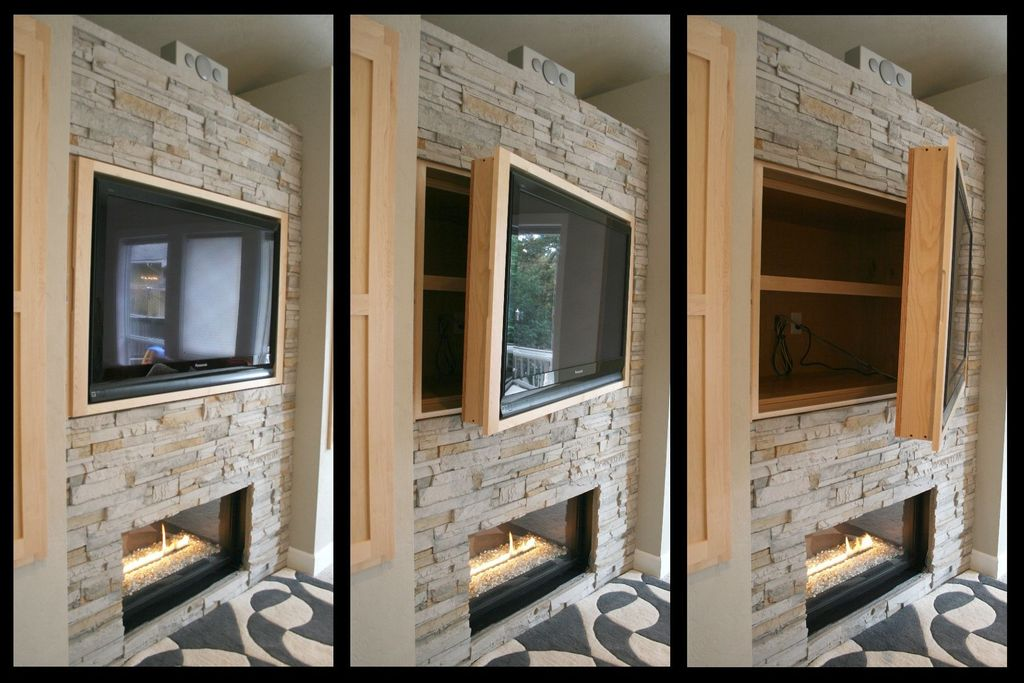 Contemporary Family Room with Paint 1, Flat screen tv cabinet, Dimplex wickson 34-inch linear electric fireplace - blf34