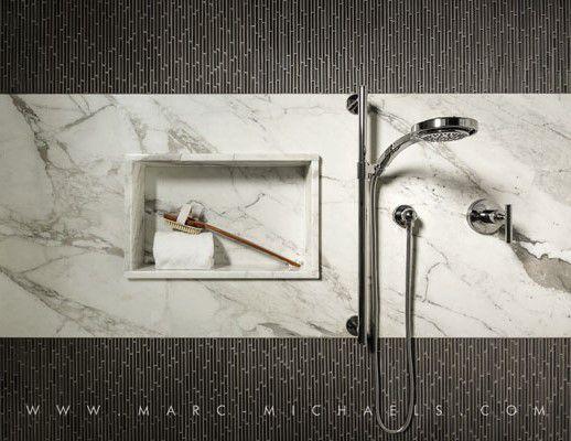 Contemporary 3/4 Bathroom