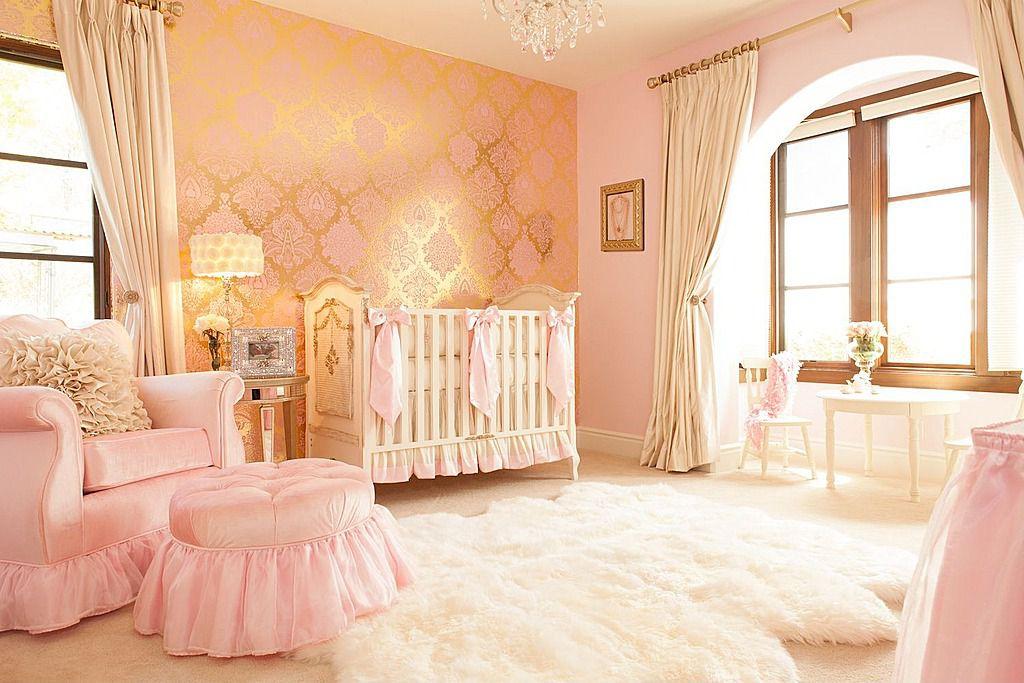 Traditional Kids Bedroom with Lambskin rug, Chandelier, no bedroom feature, Carpet, Standard height, Art desk, Casement
