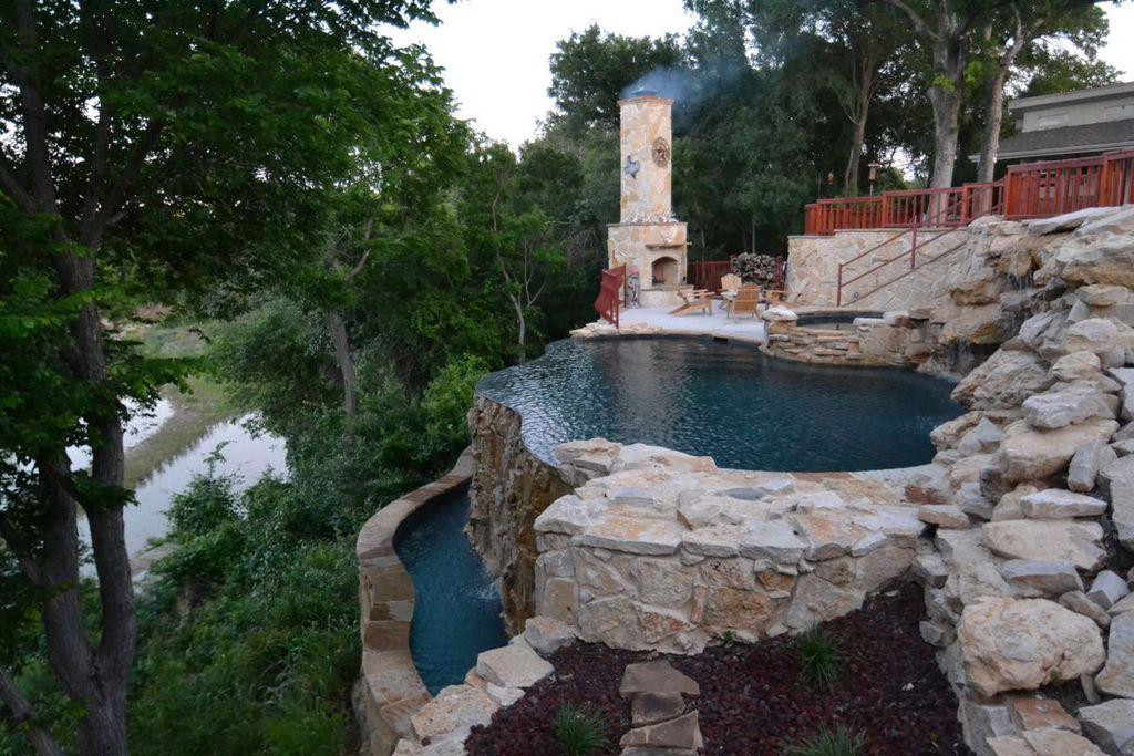 Rustic Swimming Pool