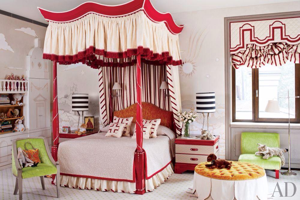 Eclectic Kids Bedroom with Standard height, Built-in bookshelf, interior wallpaper, Carpet, no bedroom feature, Window seat