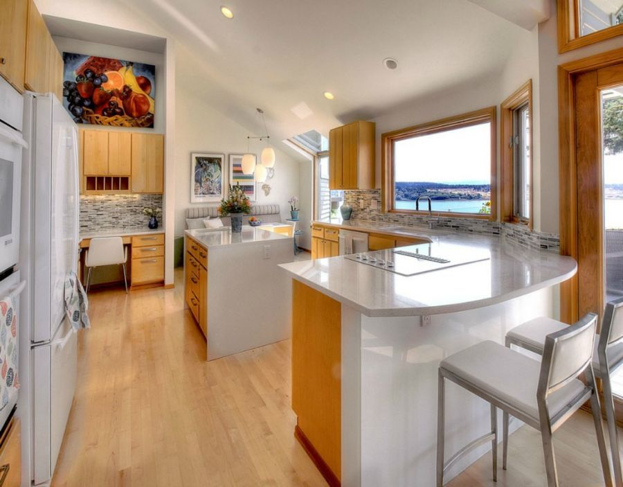 Contemporary Kitchen With Undermount Sink By Minor Details
