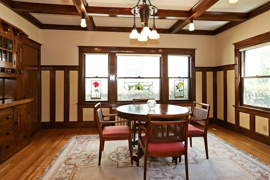 great craftsman dining room zillow digs