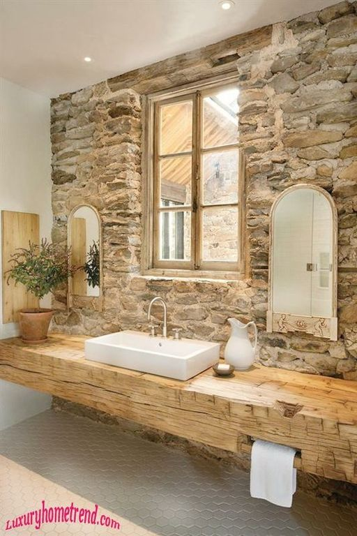 Great Rustic Full Bathroom Zillow Digs
