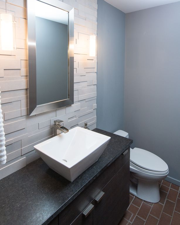 Great contemporary powder room zillow digs for Contemporary powder room sinks