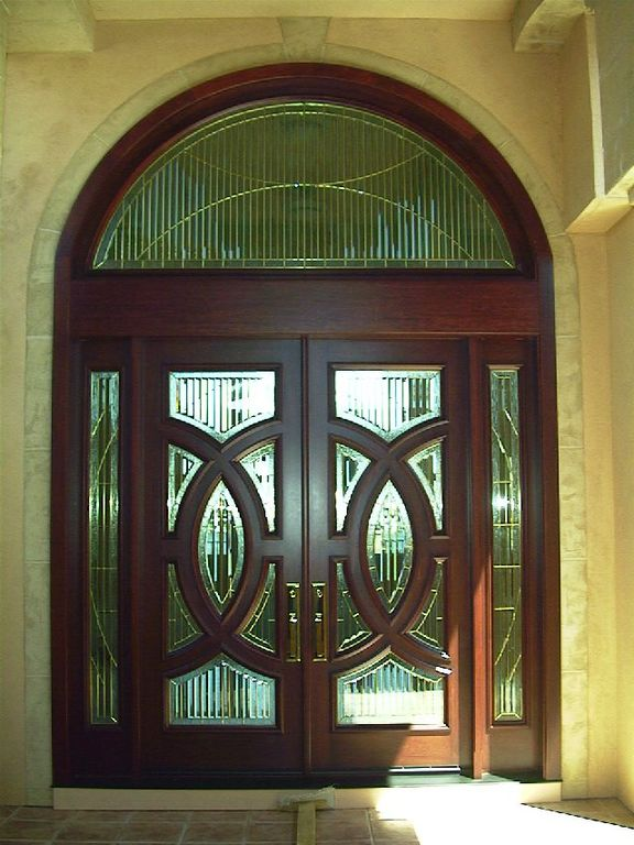 asian front door with transom window by annette marble