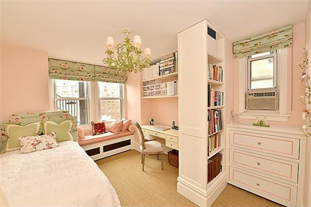 Traditional Kids Bedroom with Chandelier, Paint 1, Minky Cuddle Dimple Dot WHITE Fabric By the Yard, double-hung window