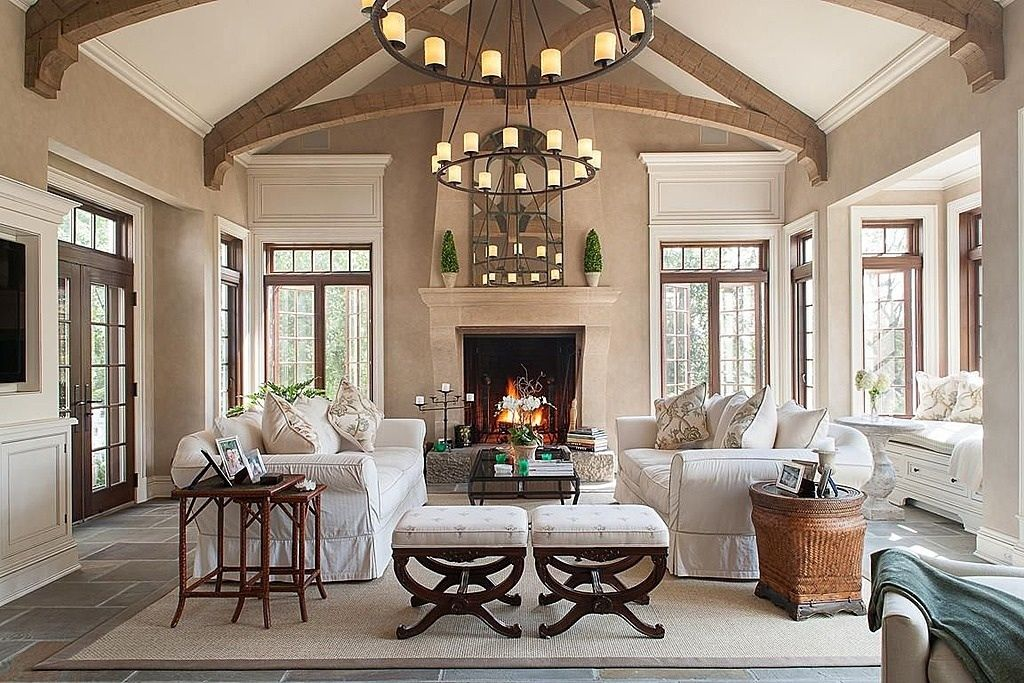 Great Traditional Living Room - Zillow Digs