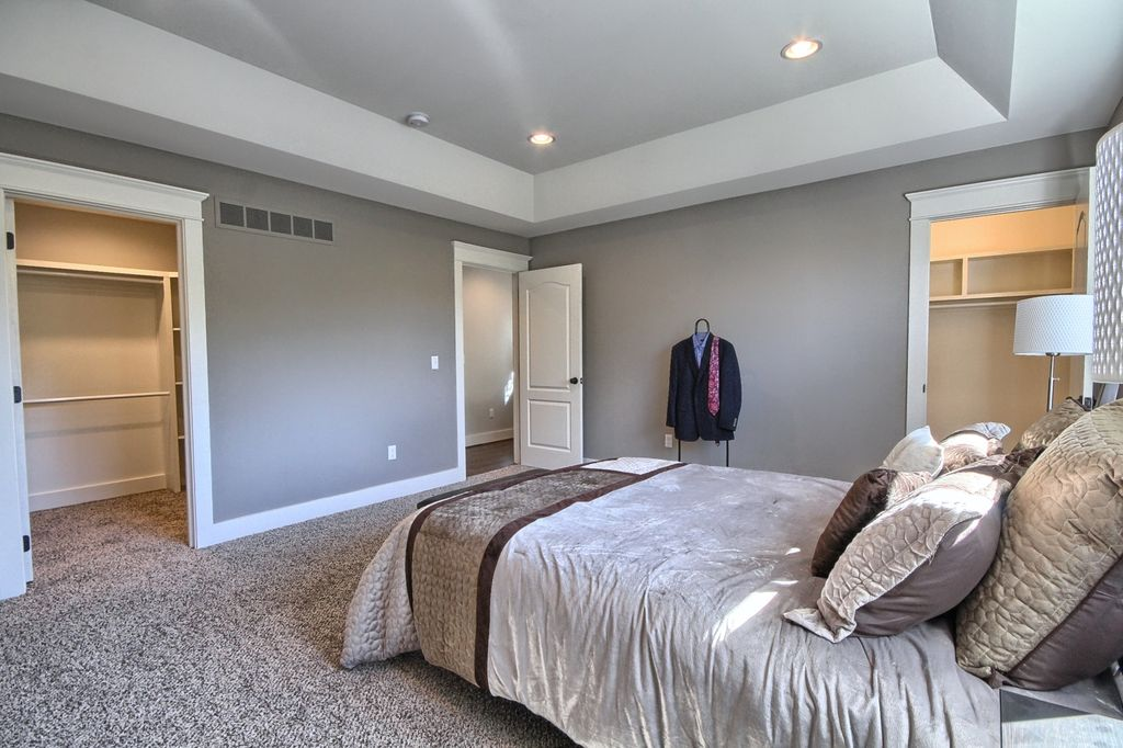master bedroom with carpet by zillow digs