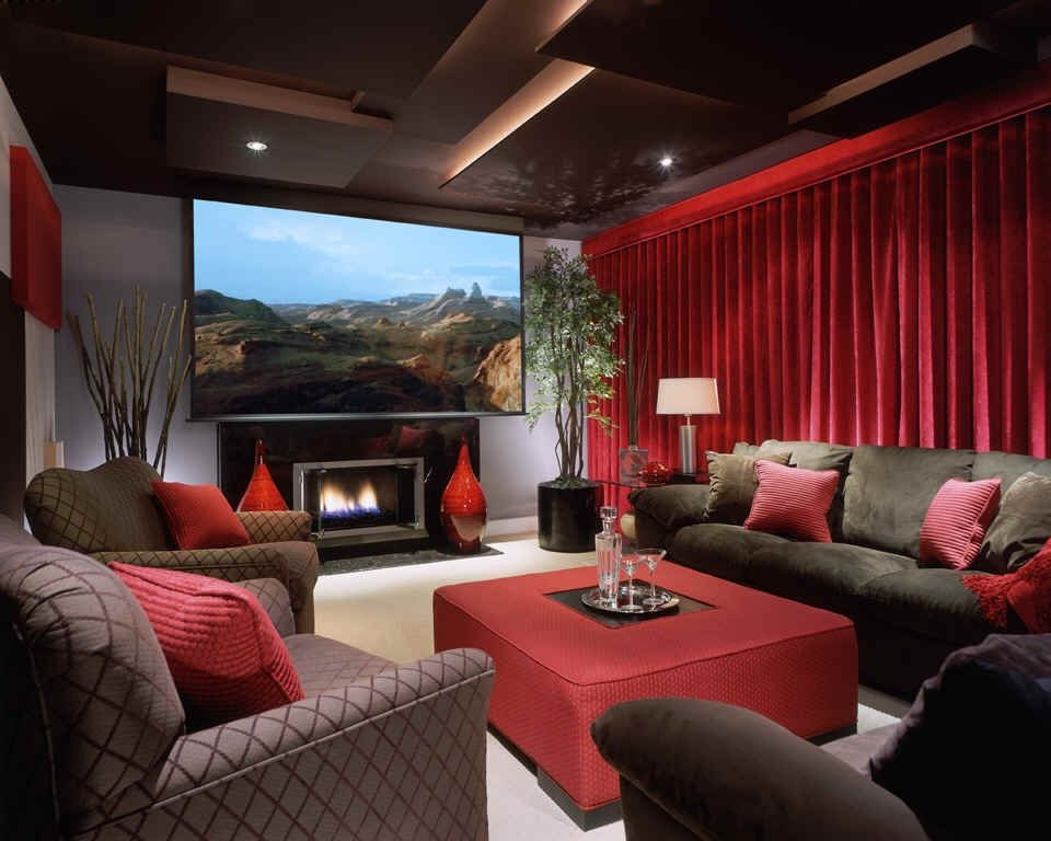 Great contemporary home theater zillow digs for Home design zillow