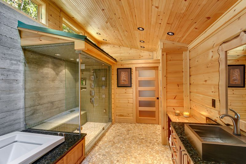 Flat Panel, Flush, Frameless, Granite - simple, Handheld, High (3.0-4m), Master, Rustic, Specialty, Vessel