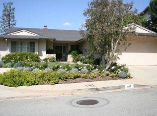 447 N Robinwood Dr , Los Angeles CA