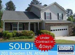 201 Bowden Ln , Athens GA