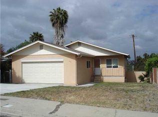 856 Sacramento Ave , Spring Valley CA
