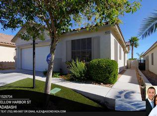 4620 Yellow Harbor St , Las Vegas NV