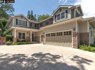 717 Calmar Vista Rd , Danville CA