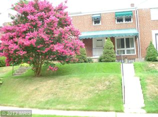 830 Reverdy Rd , Baltimore MD