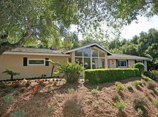 4027 Ramitas Rd , Santa Barbara CA