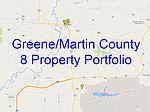 8 Rental Homes In Greene & Martin Co, Bloomfield, IN