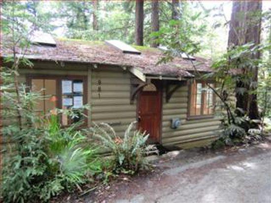 981 Sylvia Way, Ben Lomond, CA 95005