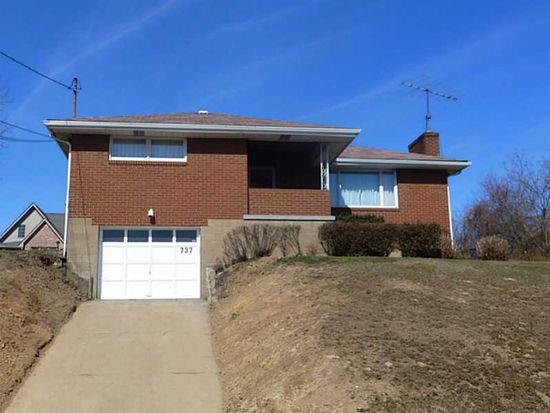 737 Horton St, Clairton, PA 15025