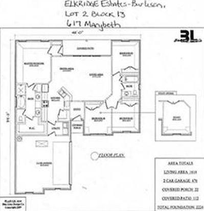 617 Marybeth Dr, Burleson, TX 76028