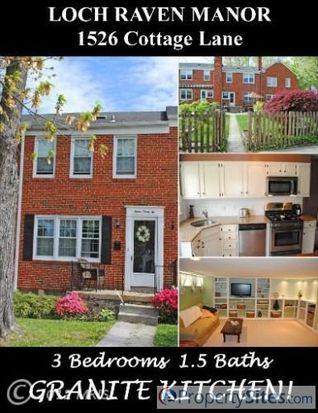 1526 Cottage Ln, Baltimore, MD 21286