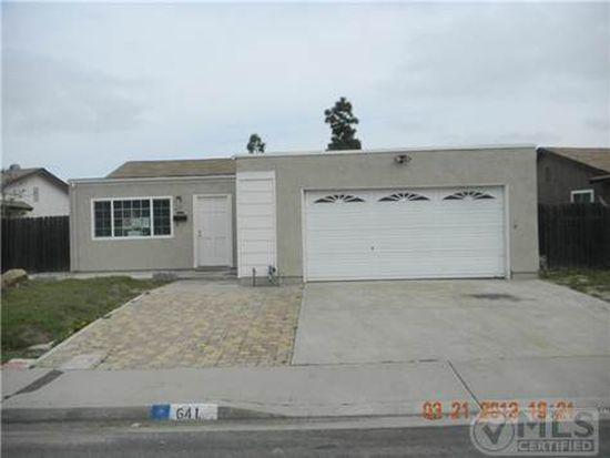 641 Braun Ave, San Diego, CA 92114