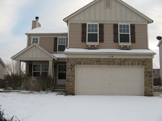 114 E Clover Ave, Cortland, IL 60112
