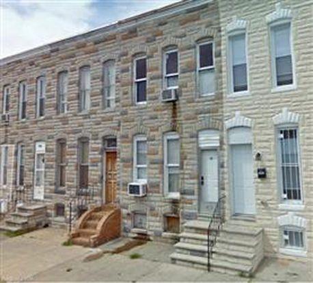 1700 W Franklin St, Baltimore, MD 21223