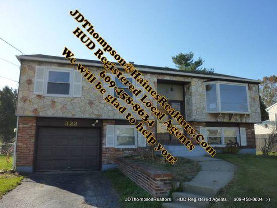 322 Monroe Ave, Edgewater Park, NJ 08010