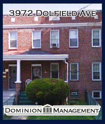 3972 Dolfield Ave, Baltimore, MD 21215