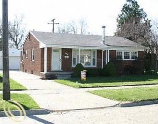 8249 N Evangeline St, Dearborn Heights, MI 48127