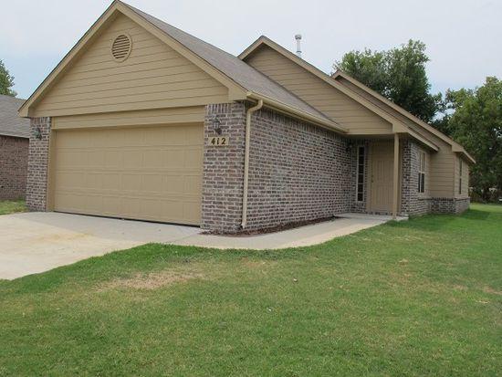 412 E Birch St, Coweta, OK 74429