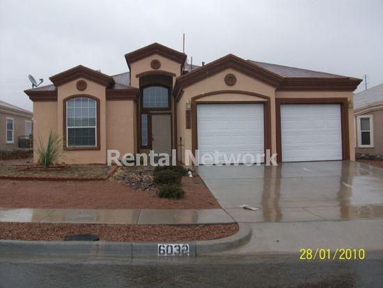 6032 Palmdale St, El Paso, TX 79932