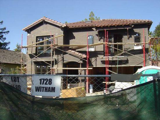 1728 Whitham Ave, Los Altos, CA 94024