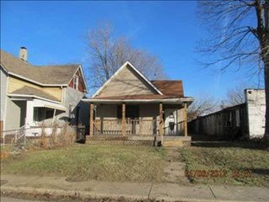 1627 Bellefontaine St, Indianapolis, IN 46202