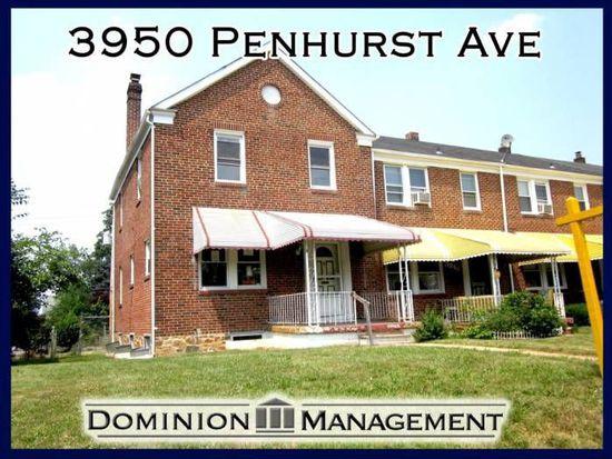 3950 Penhurst Ave, Baltimore, MD 21215